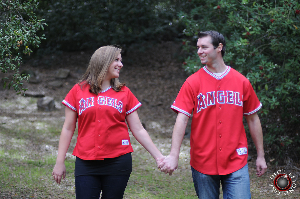 Anaheim Angels Baseball Fans Engagement Photos in Ca