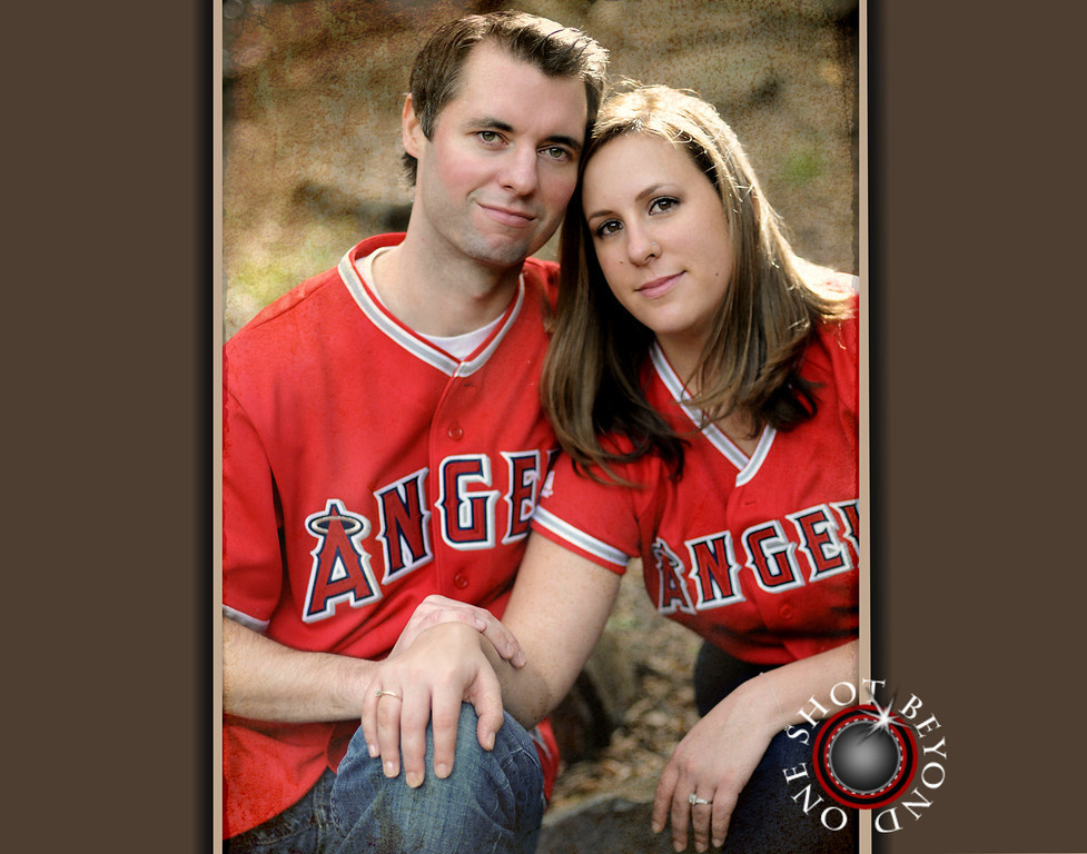 Engagement Portraits Anaheim Angels